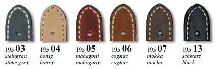 Farben Rios Vintage-Uhrenarmband 195 Newcastle